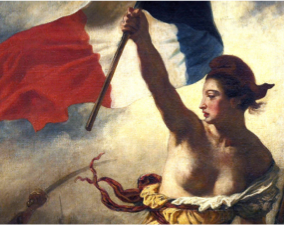 Liberty Guiding the People, by Delacroix (1830)