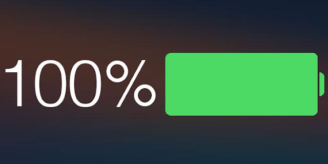Battery Percentage iPhone