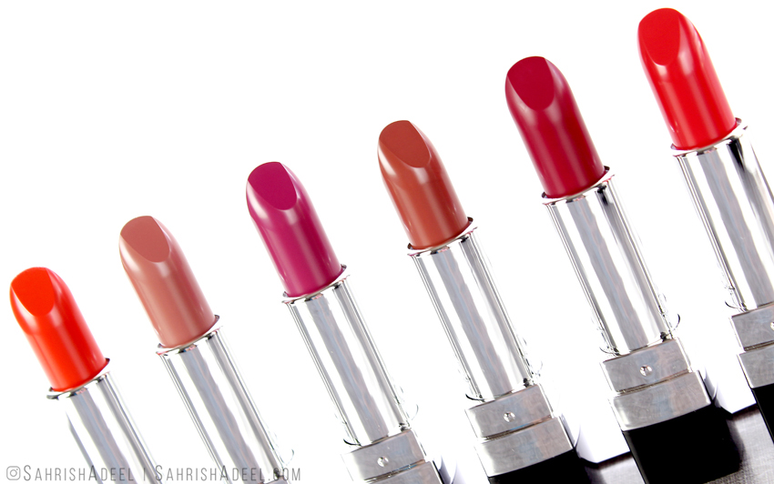 Velvet Lipsticks by Color Studio Professional - Review & Lip Swatches