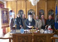"""Οι """"Φίλοι του Περιβάλλοντος Καστοριάς"""" επισκέφτηκαν τον Σεβασμιώτατο"""