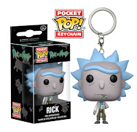 Pocket Pop! Keychain Rick