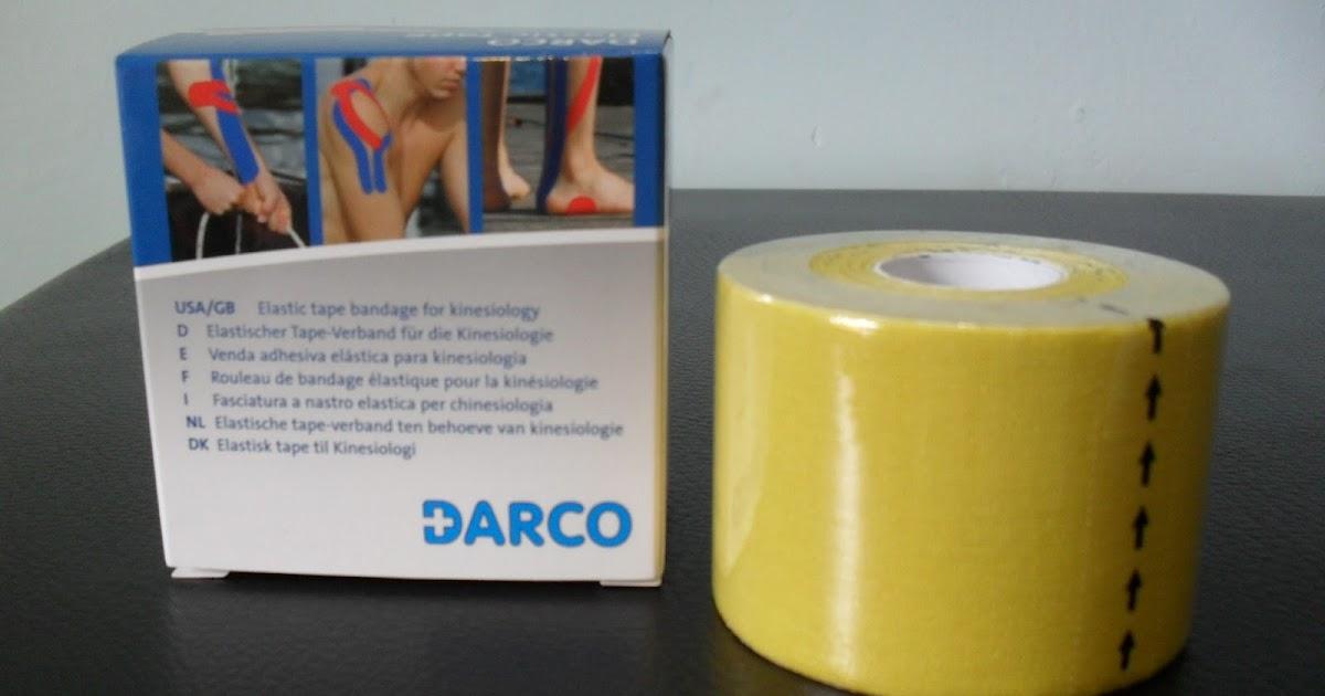 Tape elastico amarillo claro darco ortopedia virgen de for W de porter ortopedia