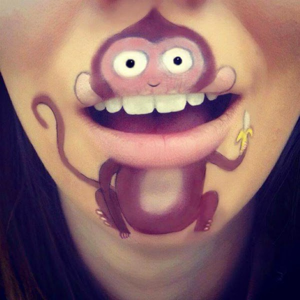 Creative Mouth Paintings Spicytec