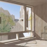 地域で育む六角形の森のような集合住宅 室内のイメージ