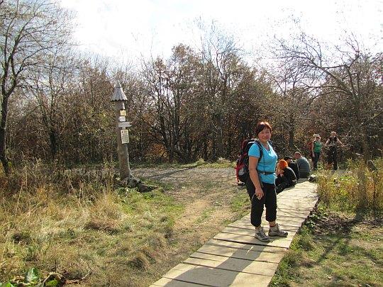 Przełęcz Bukowska (1107 m n.p.m.).