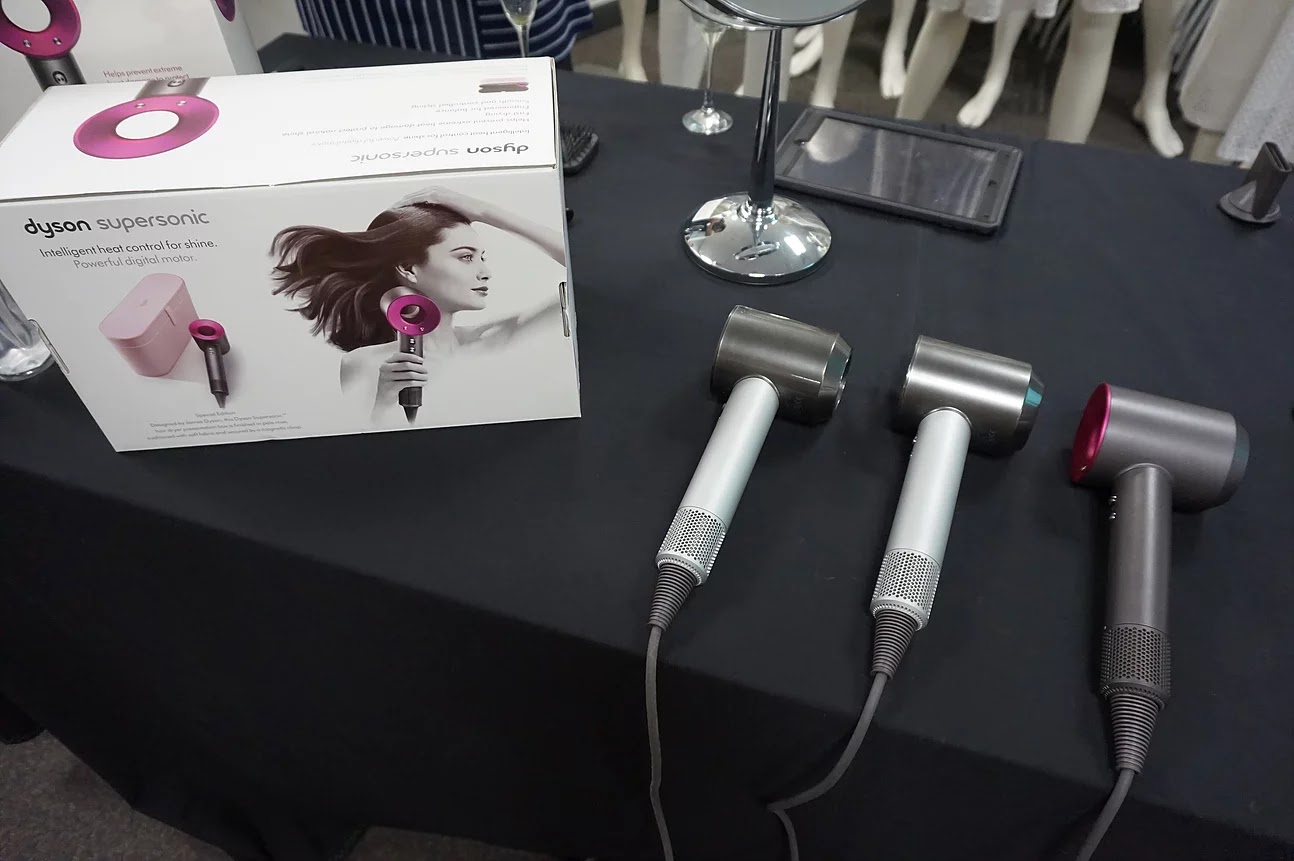 Dyson Supersonic Hairdryers in Different Colours