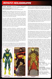 Protectores Sagrados Schutz Heiliggruppe Marvel Comics