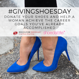 image Giving Shoes Day Donate Your shoes and help a woman achieve the career goals you've already accomplished