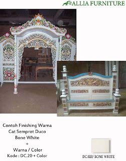 Contoh Furniture Finising Duco Kombinasi Warna