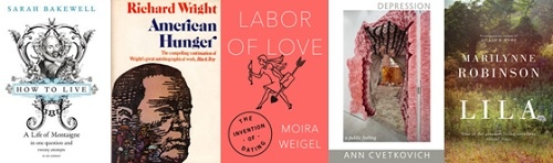 Favourite Reads of 2016: How to Live, American Hunger, Labor of Love, Lila