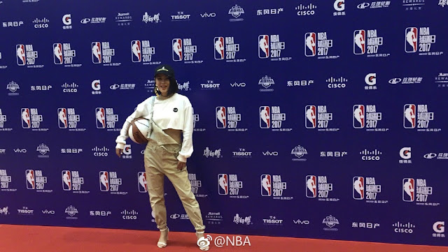 NBA Fan Appreciation Day 2017 Tia Ray