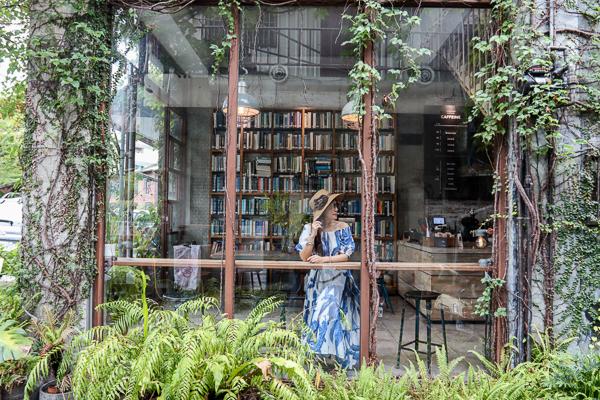 彰化員林右舍咖啡充滿復古文青風格和森林系的咖啡館,員林公園旁
