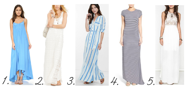 Best Maxi Dresses for the Summer
