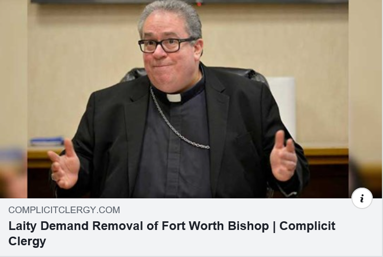 Laity Demand Removal of Fort Worth Bishop