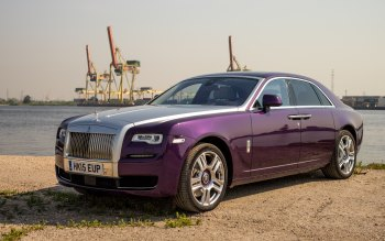 Wallpaper: Rolls-Royce Ghost 2015