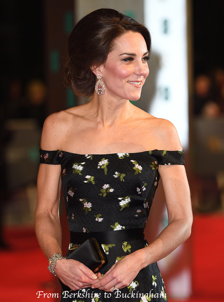 if duchess kate attended the oscars