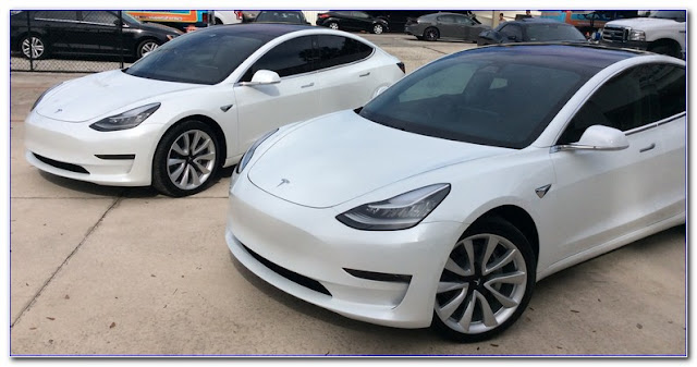 Tesla Factory WINDOW TINT Film