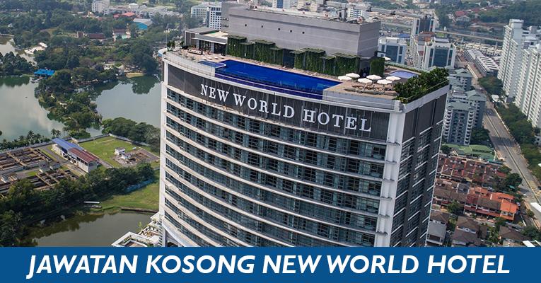Jawatan Kosong Pegawai Akaun di New World Petaling Jaya Hotel