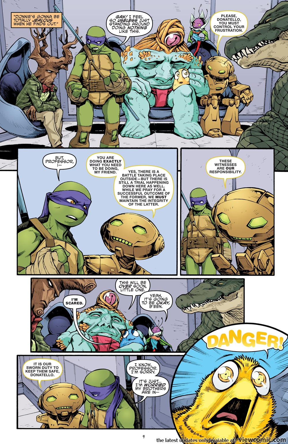Teenage Mutant Ninja Turtles 075 (2017) ……… | Reading Comics Online