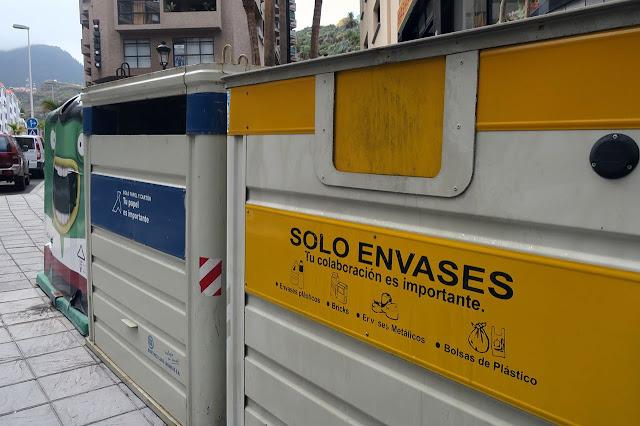 Los canarios depositaron en el contenedor amarillo un 14,5% más de envases en 2019