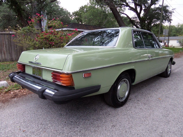 Daily Turismo Auction Watch 1975 Mercedes Benz 280c W114
