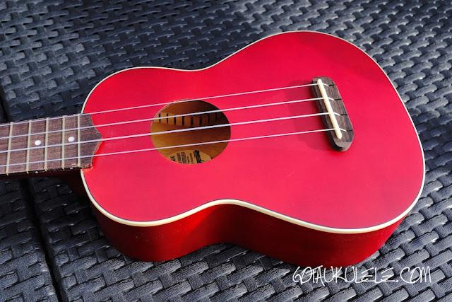 Fender Venice Sopano Ukulele body