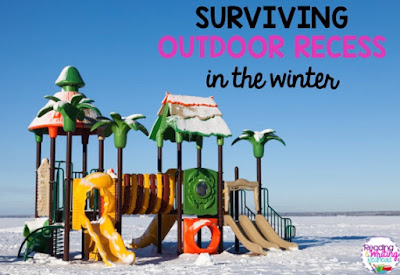Surviving Outdoor Recess in the Winter: Tips for not freezing your you-know-what off when you have recess duty in the winter from Reading and Writing Redhead