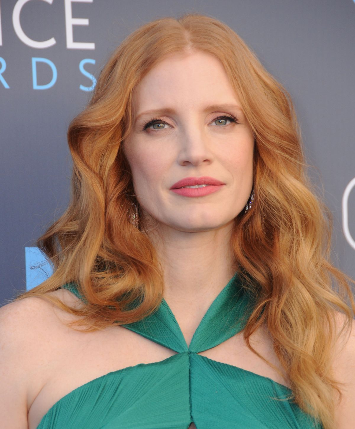 Jessica Chastain At 2018 critics Choice Awards In Santa Monica