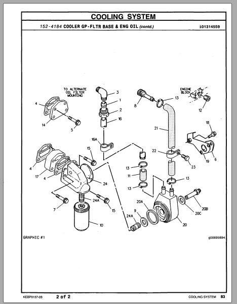 Cat 3054 Ta Parts Manual