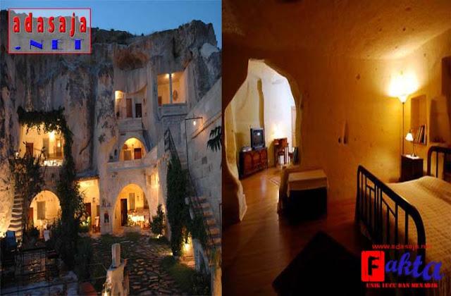 Cappadocia Hotel hotel paling aneh dan paling unik di dunia