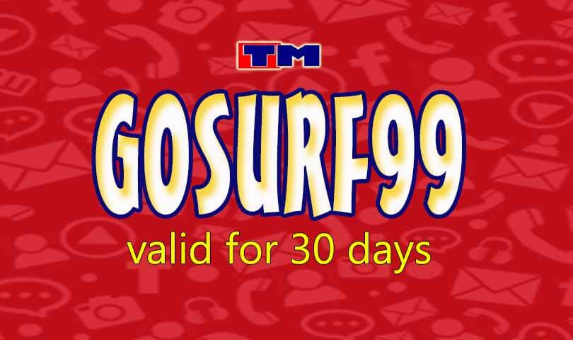 TM Data Internet Promo for 30 days only 99 Pesos with Free Facebook