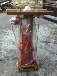 Hydrant Pillar one way coupling machino
