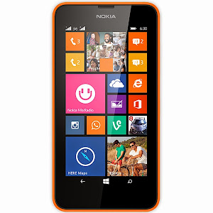 Nokia Lumia 630 dual-SIM (orange)