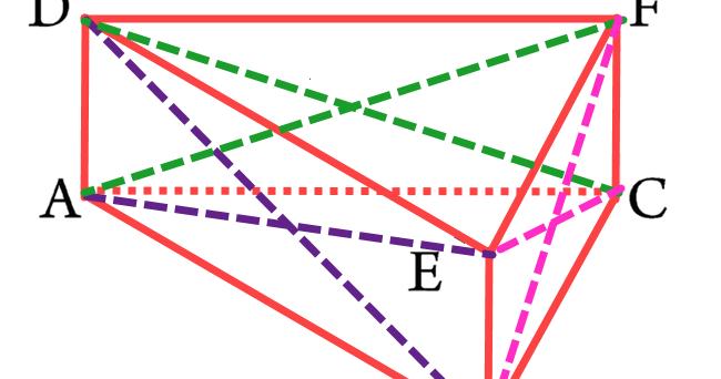 Gambar Jaring Jaring Bangun Ruang Prisma Segitiga - Info ...