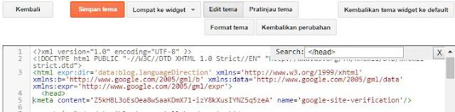 Cara Mendaftarkan Blog Ke Google Webmaster Tool Dan Konfigurasi Sitemap