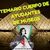 TEMARIO Cuerpo de Ayudantes de Museos.