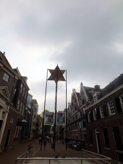 Calle del Barrio Judío de Amsterdam