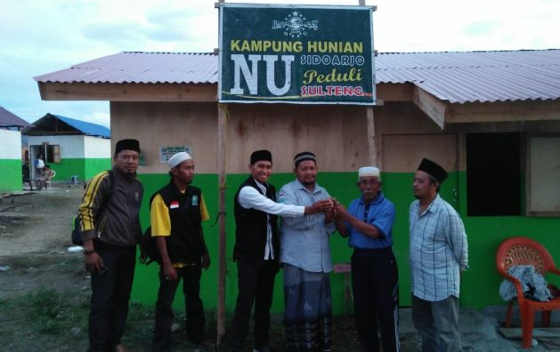 Alhamdulillah, Warga Palu Mulai Tempati Huntara Kampung NU