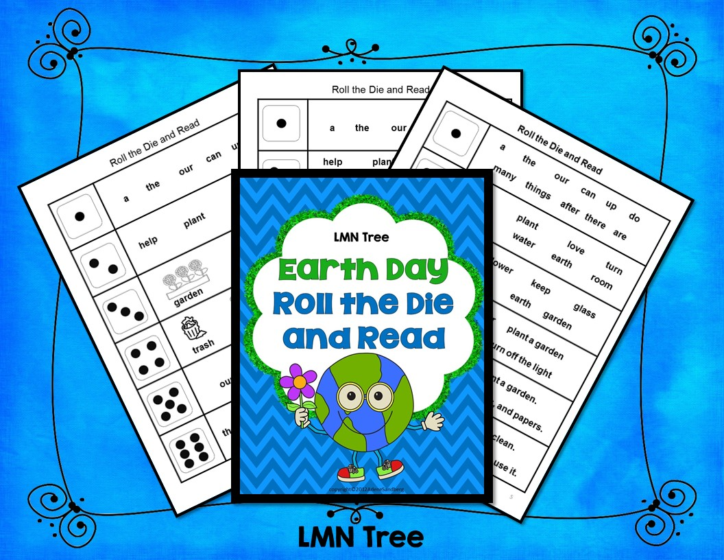 Earth Day Roll The Dice And Read Activity Packet