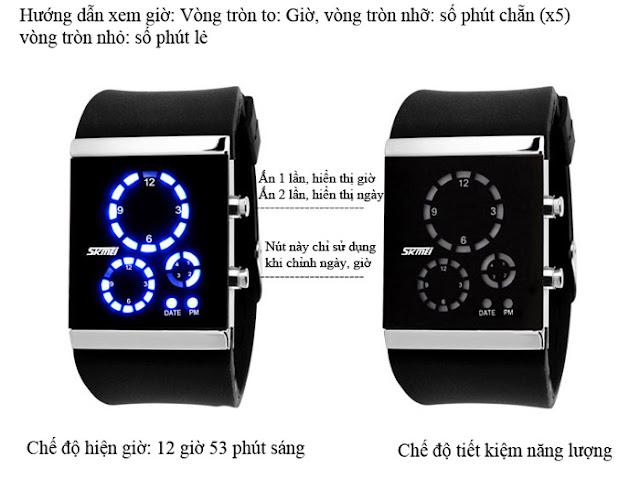 Đồng hồ Skmei 0984 5