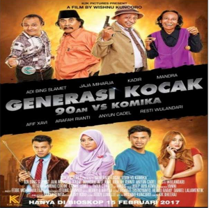 Download Film Generasi Kocak: 90-an vs Komika (2017) BluRay 720p Ganool Movie