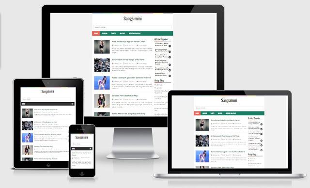 Sangsimini fast blogger template