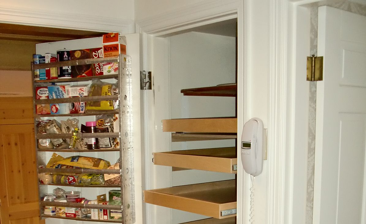 Wood Storage Cabinets With Doors and Shelves