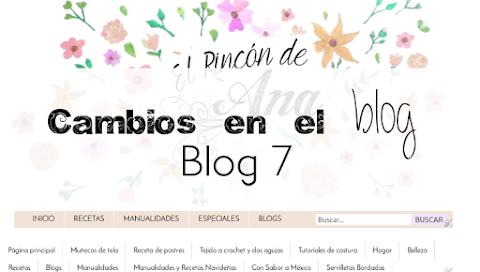 Para variar...cambios en el blog - Blog 7