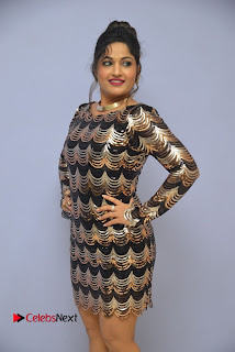 Actress Madhavi Latha Pictures in Short Dress at On Mona Birthday Premiere 0002