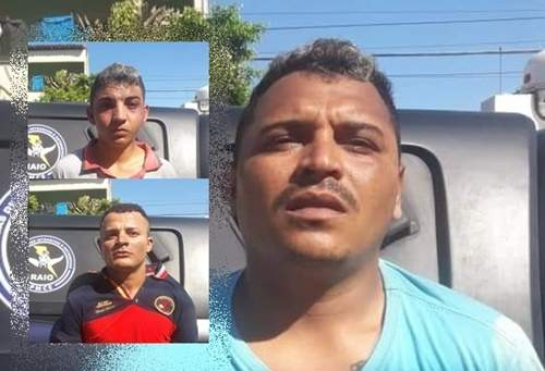 Autores de roubo a passageiros e taxista são presos em Aracati