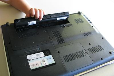mengatasi baterai laptop cepat habis dan drop