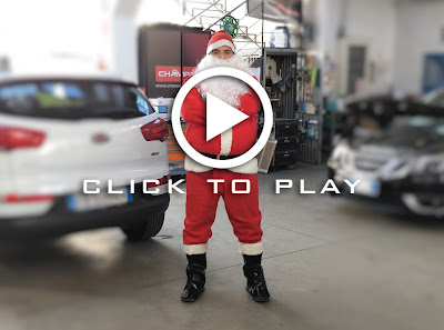 Vieni a fare un giro con Babbo Natale