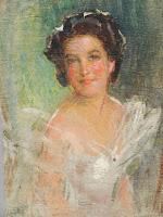 Portrait Study of Identified Russian Woman, Nikolai Becker