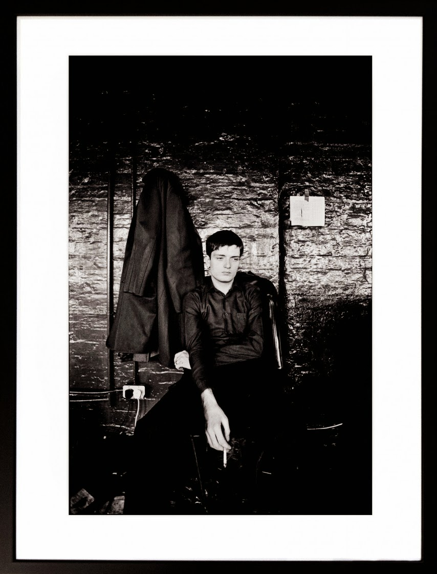 The Photography of Punk. Ian Curtis. Joy Division TJ Davidson Rehearsal Rooms. Kevin Cummins